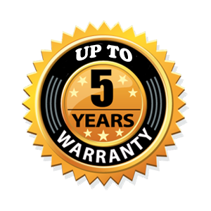 up to5-Year-Warranty